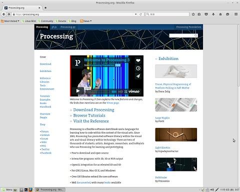 Processing公式サイト